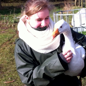 Me and my goose